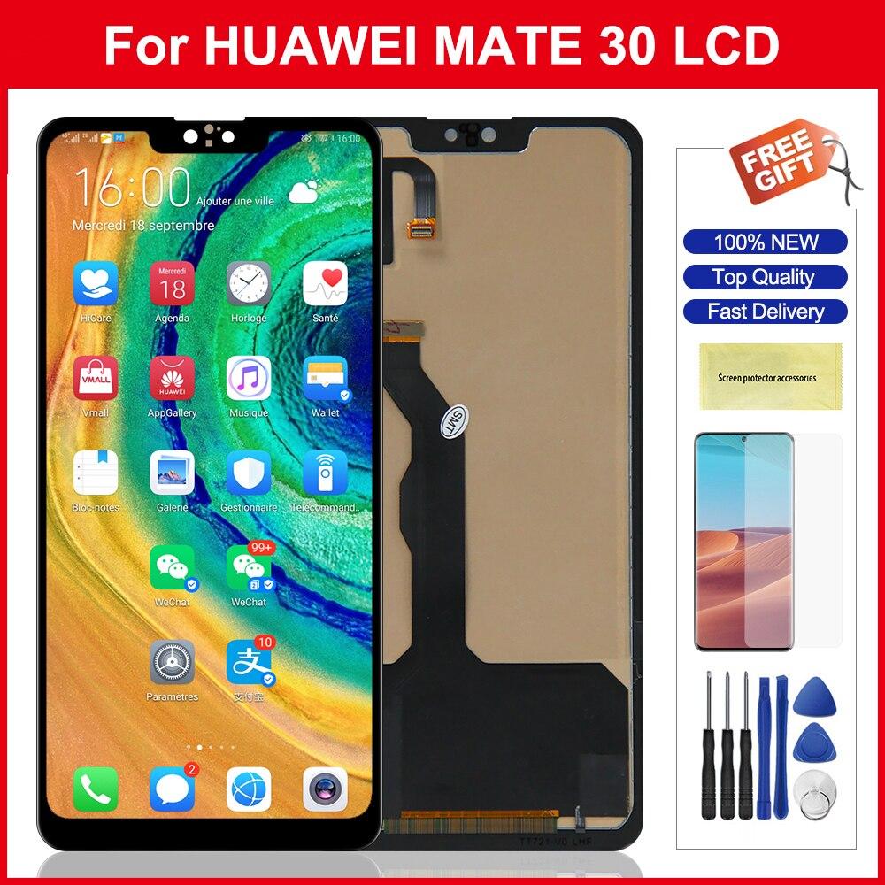 عرض لهواوي ماتي 30 Mate30 LCD شاشة تعمل باللمس محول الأرقام الجمعية أجزاء لهواوي ماتي 30 شاشة عرض