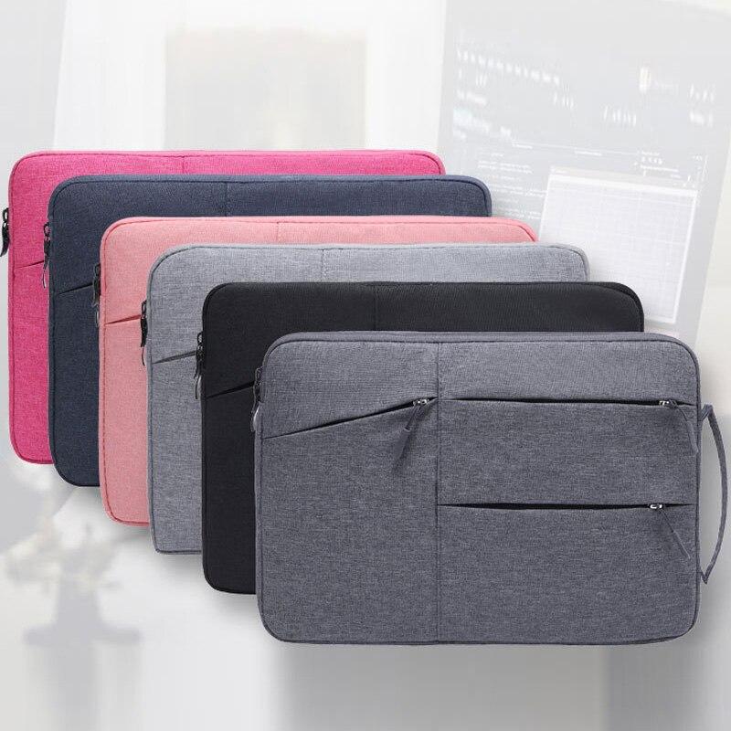 حقيبة الكمبيوتر المحمول 13.3 14 15 بوصة ل برو الشبكية 12 13 15.6 16 بوصة غطاء للكمبيوتر المحمول ل