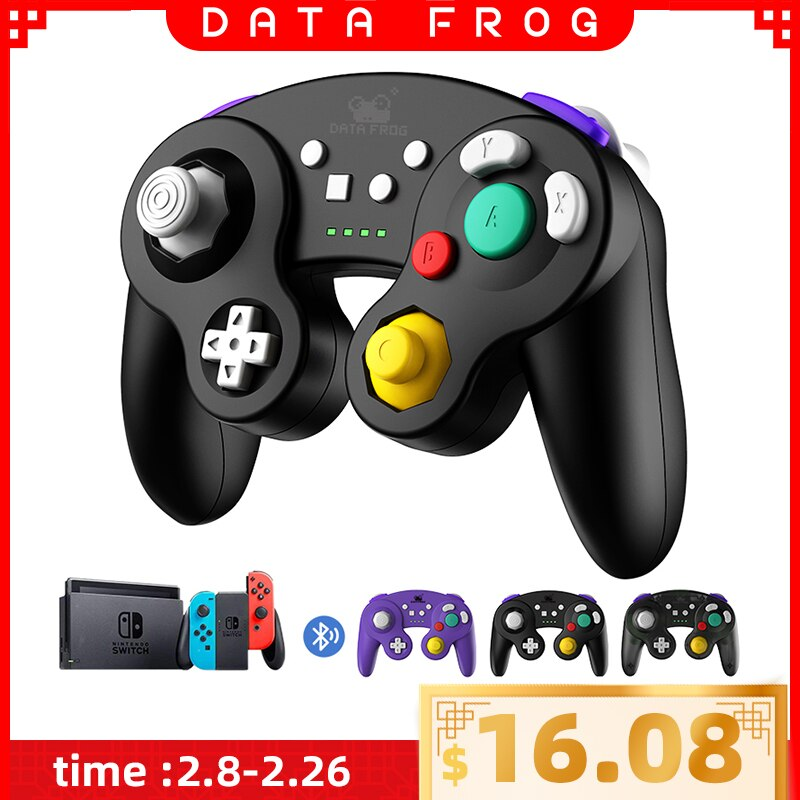 data frog 2 4g wireless game controller gamepad for ps3 xbox 360 android mini i8 keyboard optical mouse for android tv box pc DATA FROG Wireless Bluetooth Game Controller For Nintendo Switch Pro Gamepad Vibration Joystick for NS Lite/TV BOX/PS3/Android