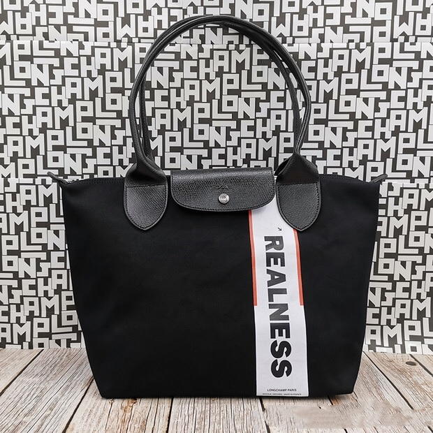 Longchamp موضة رسالة قماش حقيبة يد جلدية حقيبة ساعي العلامة التجارية سعة كبيرة حقيبة يد مصمم حقيبة كتف سيدة حقيبة 2021