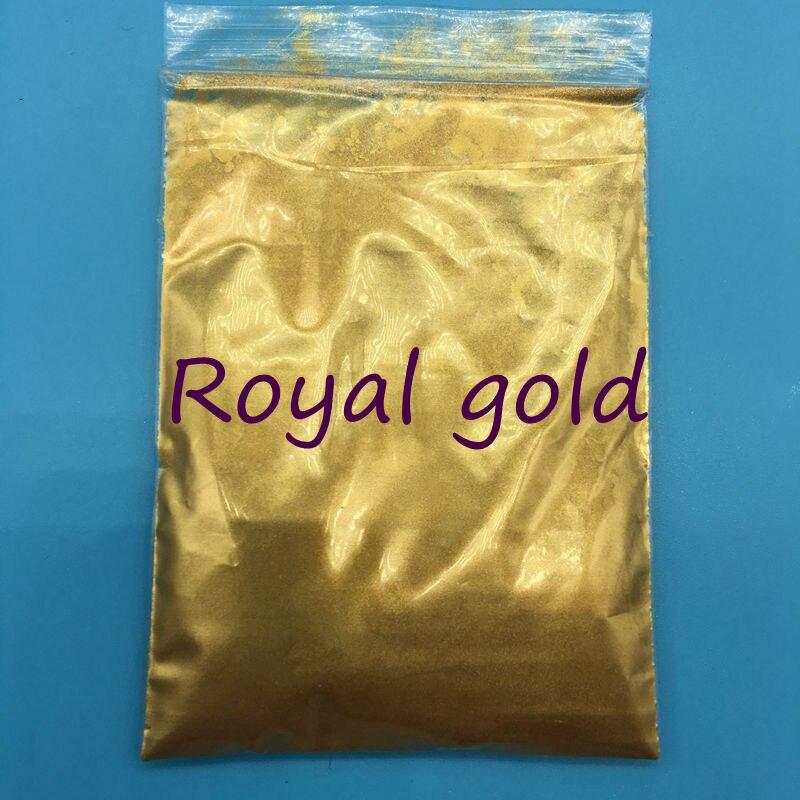 500g tasche Hohe Qualität Perle Pulver Royal gold Farbe Glimmer pulver Pigment Glitter Perlglanz Pulver Für DIY Dekoration.