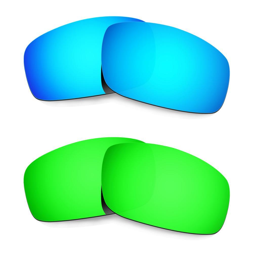 Hkuco ل الوحش الجرو النظارات الشمسية المستقطبة استبدال العدسات 2 أزواج-الأزرق والأخضر