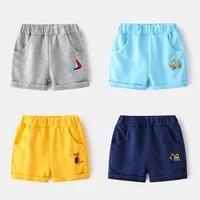 new 2021 kids boys summer casual shorts children sports short pants baby boys cartoon print elastic mid waist shorts trousers