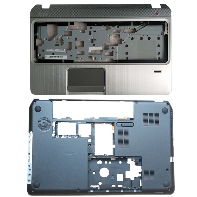 حافظة قاعدة سفلية/Palmrest غطاء علوي لهاتف HP Envy بافيليون M6 M6-1000 707886-001 AP0U9000100