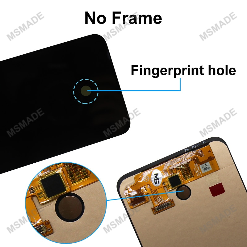 Super AMOLED For Samsung Galaxy A50 SM-A505FN/DS A505F/DS A505 LCD Display Touch Screen Digitizer With Frame For Samsung A50 lcd enlarge