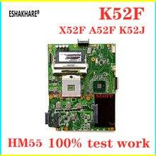 ESHAKHAR K52F REV 2.0 ASUS K52 X52F A52F P52F laptop anakart K52F anakart K52F anakart HM55 DDR3 test 100% tamam