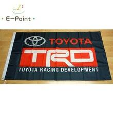 Flag Toyota TRD Black 2ft*3ft (60*90cm) 3ft*5ft (90*150cm) Size Christmas Decorations for Home Flag Banner Gifts