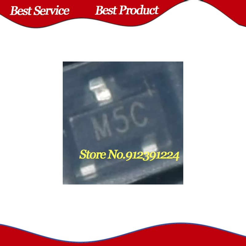 1000 Pcs/Lot 2N7000 M5C SOT23-3 New and Original In Stock
