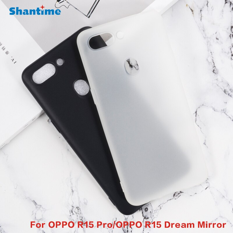 For OPPO R15 Pro Gel Pudding Silicone Phone Protective Back Shell For OPPO R15 Pro Soft TPU Case