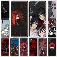 phone case for samsung galaxy a21s eu a12 a51 a71 a31 a02s a41 a52 a72 a32 5g soft shockproof cover coque akatsuki anime