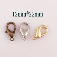 50 pcs goldsilverantique bronze lobster swivel clasps mini claws carabiner snap buckles gate bag purse strap handbag hook