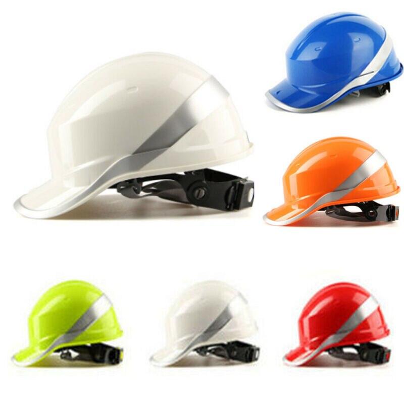 Casque de protection de sécurité Construction sécurité équipement de travail casque réglable