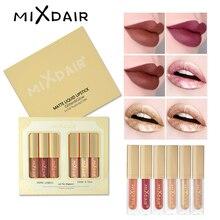 MIXDAIR ensemble mat brillant à lèvres paillettes miroitant ensemble de mise en évidence liquide rouge à lèvres ombre à paupières visage surligneur diamant Pigment ensemble de maquillage