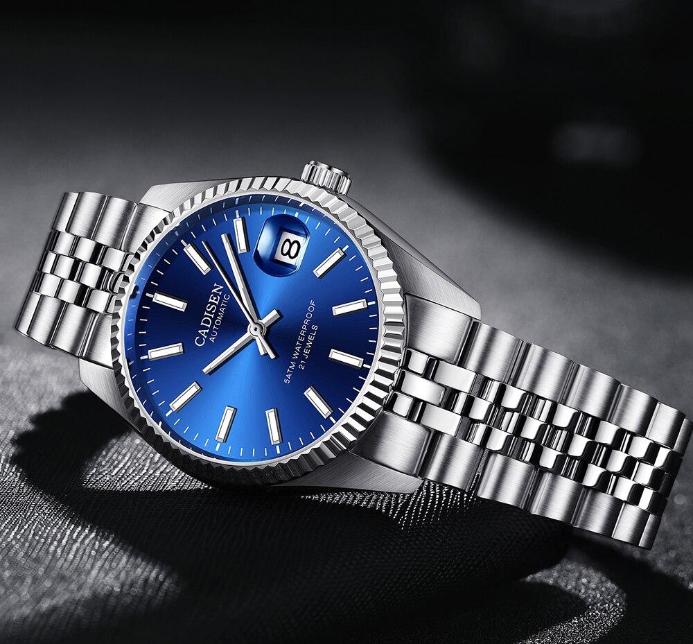 Luminous Watch chronograph Watch Calendar Automatic Mechanical Watch Stainles Steel Waterproof  Fashion Business Wrist Watch enlarge