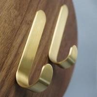 hook brass clothes wall mounted bathroom hardware copper clothes hanger door hook furniture harware