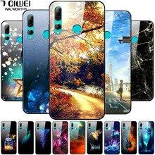Étui en verre trempé pour Huawei Honor 10i couverture rigide Honor 10 Lite housse de protection arrière pour Huawei Honor 10i 10 i HRY-LX1