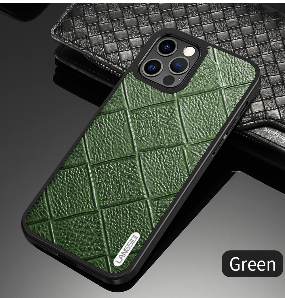 iphone 12 pro max leather case 10
