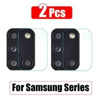 Защитное стекло для камеры Samsung Galaxy M51 2020, M31, M31S, M30, M20, M11, A11, A20E, A21, A21S, A30S, A31, A41, A42, A51, A70S, A71, 2 шт.