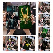 NBDRUICAI Marvel Hero Loki TPU black Phone Case Cover Hull For Oppo A5 A9 2020 A11x A71 A73S A1K A83 case