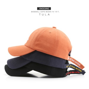 Edition Japanese Women's Cotton Letter Embroidered Cap Trendy Men's Outdoor Sports Leisure Sunscreen Baseball Cap