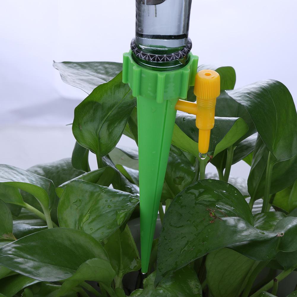 1 Uds sistema de riego por goteo automático, punta de riego para plantas de jardín, Kits de riego de flores para interiores, bebederos automáticos para el hogar