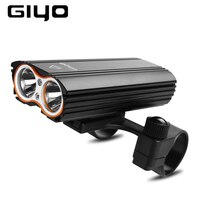 GIYO Bike Light Bicycle Front Light LED USB Rechargeable Cycling Headlight MTB Road Bike Lamp Waterproof Lanterna For Bicycle