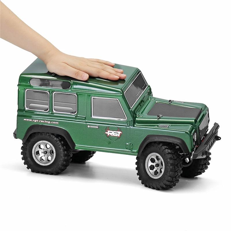 HSP RGT 136100 RC Car 110 2,4 ГГц 4WD Радиоуправляемый автомобиль Рок Гусеничный водонепроницаемый внедорожный автомобиль RTR версия игрушки для детей
