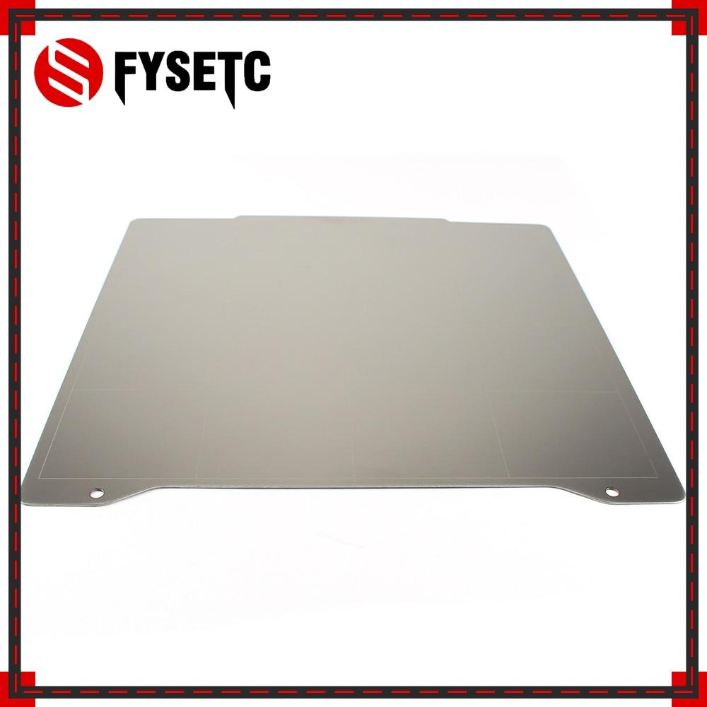 FYSETC-لوح فولاذي صغير للطابعة ثلاثية الأبعاد ، لوح فولاذي زنبركي 196.3 × 190 مللي متر ، منصة تسخين ، clone prusa mini