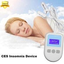 Dispositif de physiothérapie Ces Machine traitement de linsomnie 6 niveaux réglables 110v ~ 240v anxiété Rechargeable