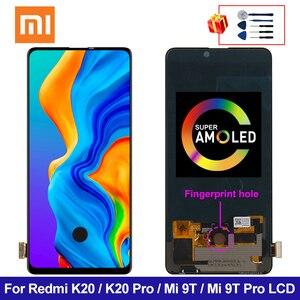 ЖК-дисплей Amoled 6,39 дюйма для Xiaomi Mi 9 T, сенсорный экран с дигитайзером в сборе Mi 9 T Pro, сменный ЖК-дисплей для Redmi K20 Pro, K20, Mi 9 T