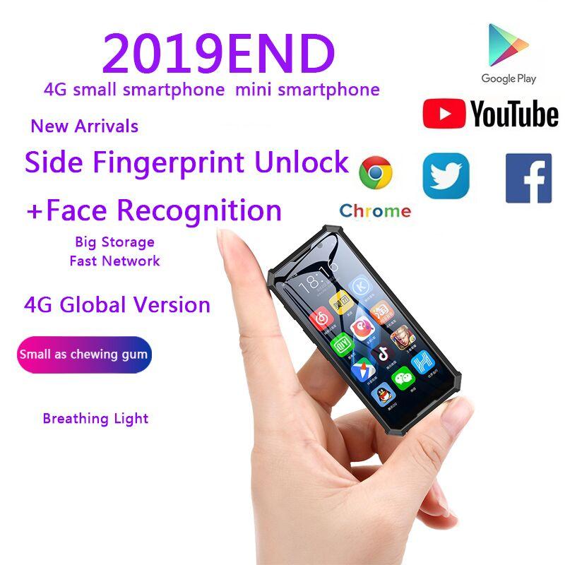 Melrose 2019END Mini Android Smartphone 2GB 32GB 4G Red Wifi GPS 3,5 ''pequeño tamaño cara reconocimiento copia de seguridad estudiante teléfono móvil