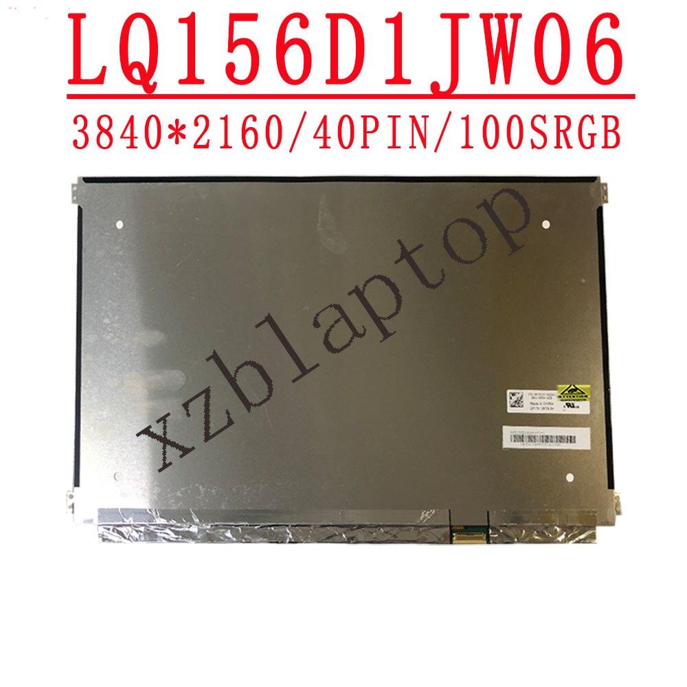LQ156D1JW06 شاشة كمبيوتر محمول Lcd مقاس 15.6 بوصة ، دقة شاشة عالية للغاية ، IPS ، 3840 × 2160 ، 4K EDP ، DP/N 0KY9JH