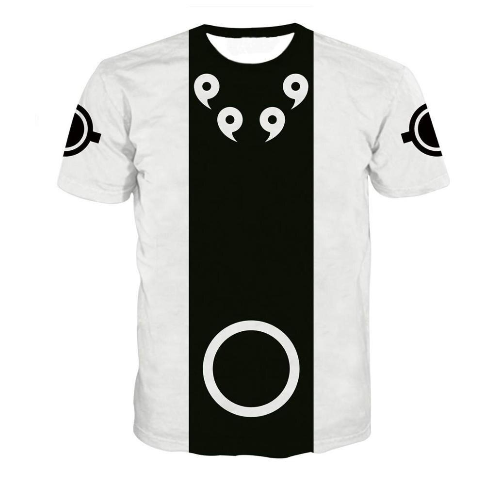Summer New Japan Anime Uchiha Sasuke Itachi 3D T Shirt Male O-Neck Cartoon Daily Tee Tops Men/Women Cool Harajuku Clothes