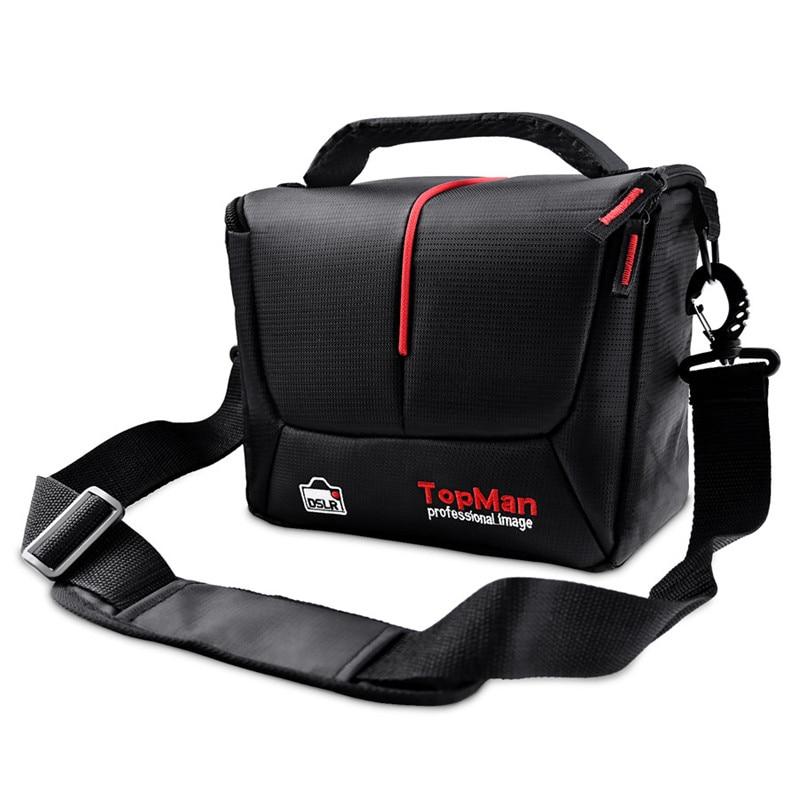 fosoto DSLR Camera Bag Fashion Digital Photo Video Case Waterproof Shoulder Bag For Dslr Sony Canon Nikon Camera Lens
