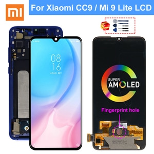 Сменный сенсорный ЖК-экран AMOLED для Xiaomi Mi CC9, MI 9 Lite