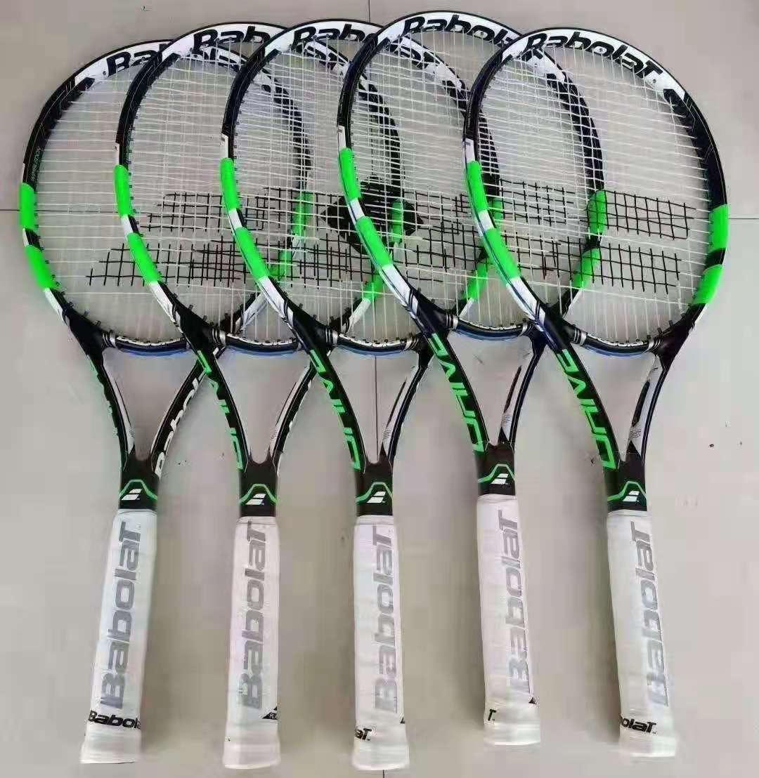 Full Carbon Single Beginner L3 Handle College Tennis Racket Training Racket  -40