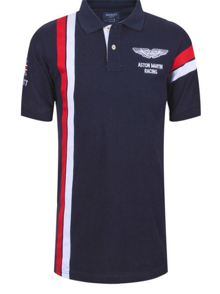 Camiseta polo de manga corta de golf para hombre, camiseta de tenis de moda de media manga vertical para deportes de verano, big Paul