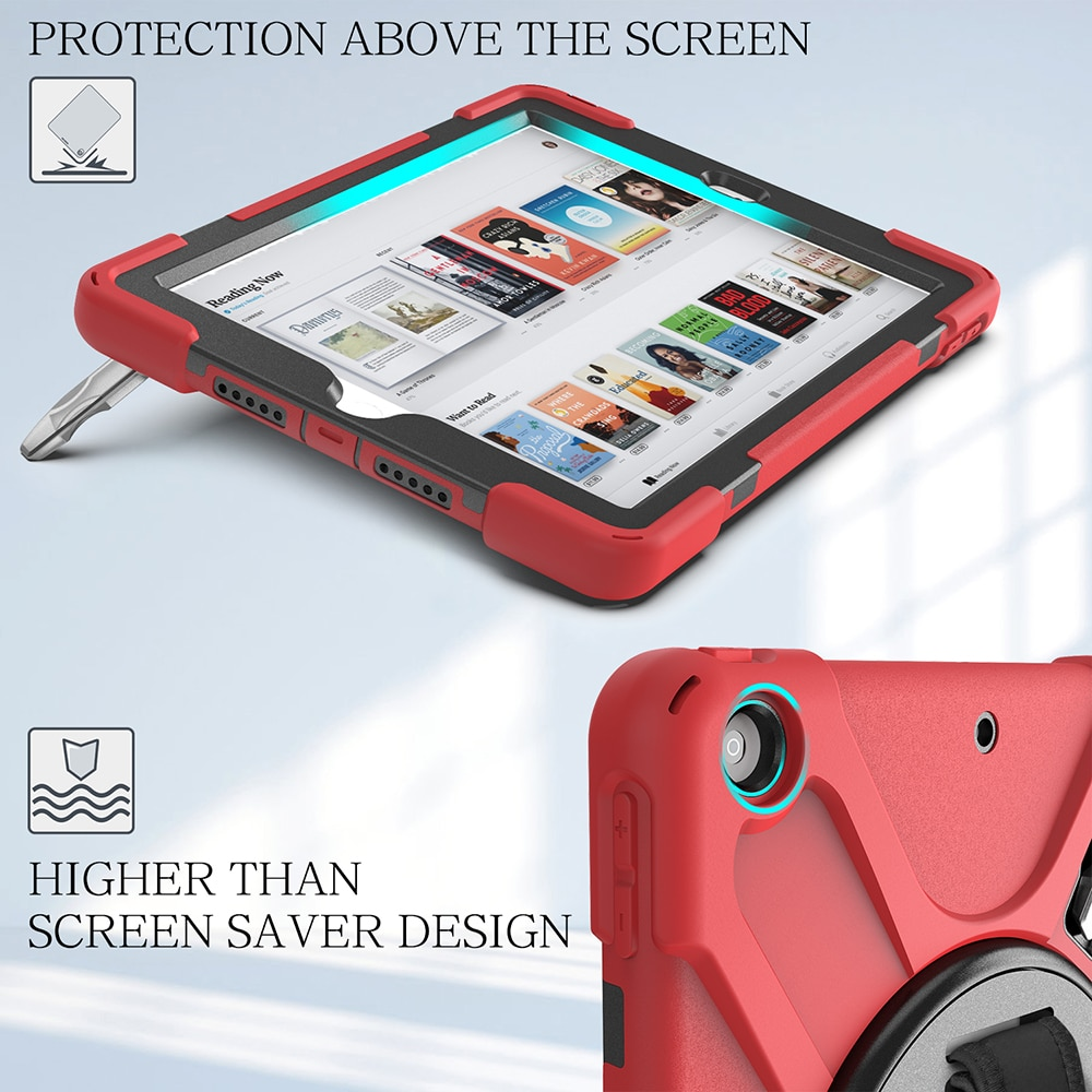 Cover Armor iPad 10.2 Shokproof Heavy A2198 Kids Case A2429 A2200 for A2270 A2428 A2197