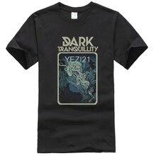 Sortes suède Cool sombre tranquillité Rock marque chemise noire 3D mma fitness 100% coton à manches courtes T-shirt t-shirts skateboard boutique