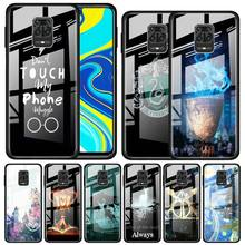 Potter Liebe Gehärtetem Glas Telefon Fall für Xiaomi Redmi K20 K30 Pro 5G 7 8A Hinweis 7 8 8T 9 Pro 9S Funda Capa