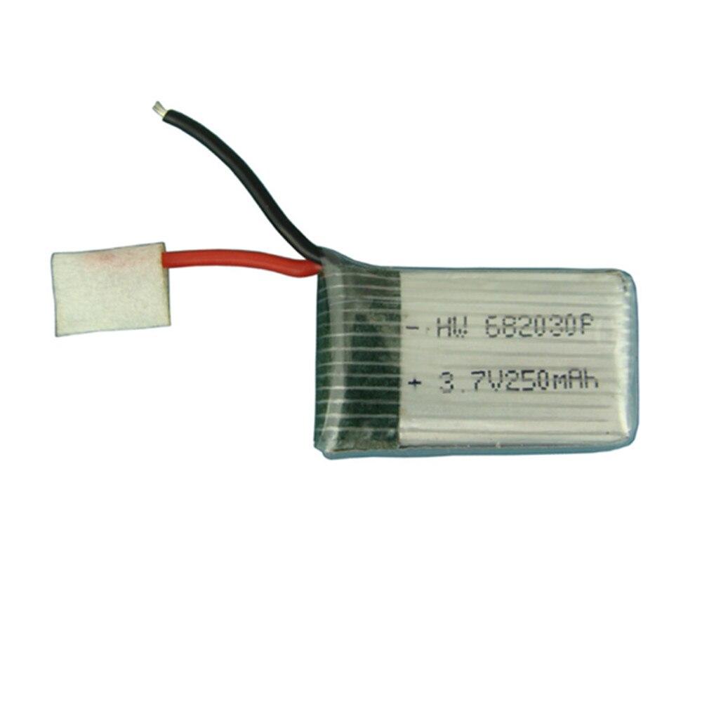 3,7 V 250mAH 682030 Lipo batería para X11C Control remoto aviones accesorios 3,7 V baterías li-po