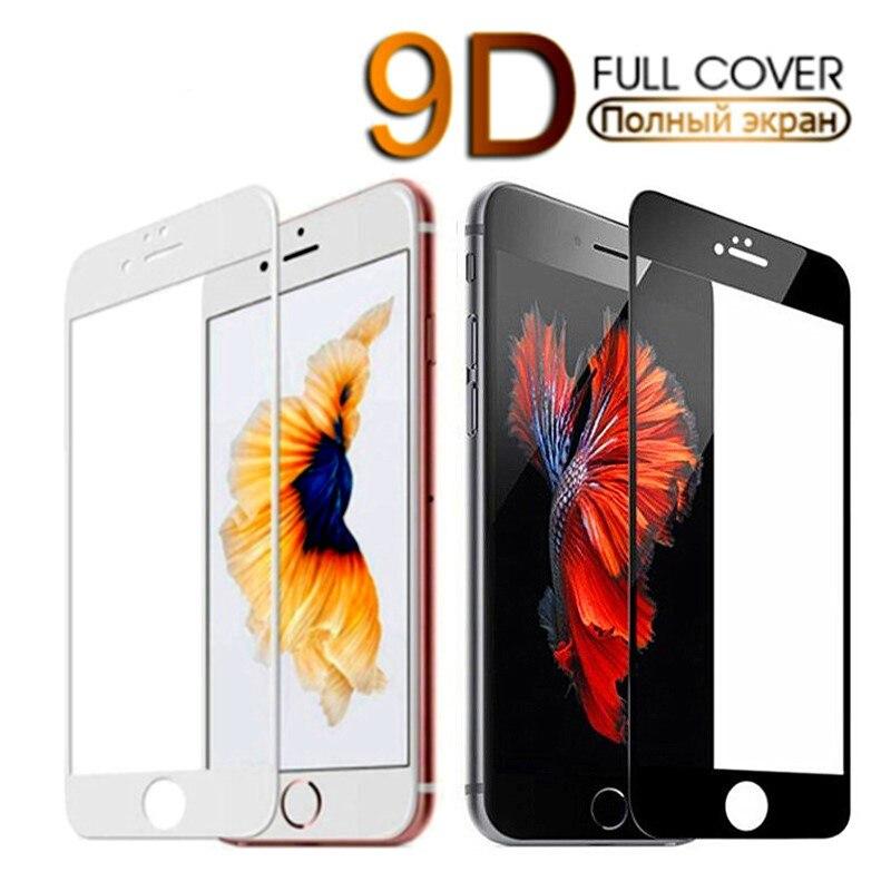 9D funda de protección completa de Iphone 7 de Iphone Se de...