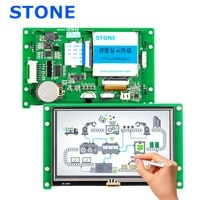 4 3 inch hmi touchscreen lcd display with program support any microcontroller for industrial use