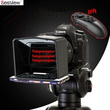 Smartphone Teleprompter for Canon Nikon Sony Camera Photo Studio DSLR for Youtube Vlog Interview Video Camera TV station