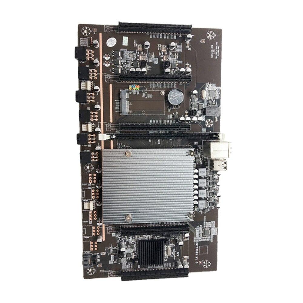 X79-H61 LGA 2011 التعدين اللوحة وحدة المعالجة المركزية المقبس 5 PCIe PCI-E Express 3.0 X8 فتحات DDR3 فتحة الذاكرة للتعدين دعم 3060 وحدة معالجة الرسومات