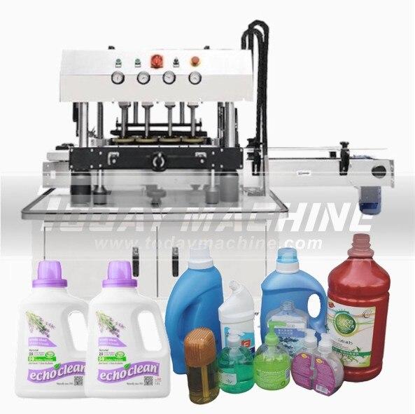 2020, máquina semiautomática Manual para tapar botellas de vidrio, botellas de mermelada, máquina para tapar salsas