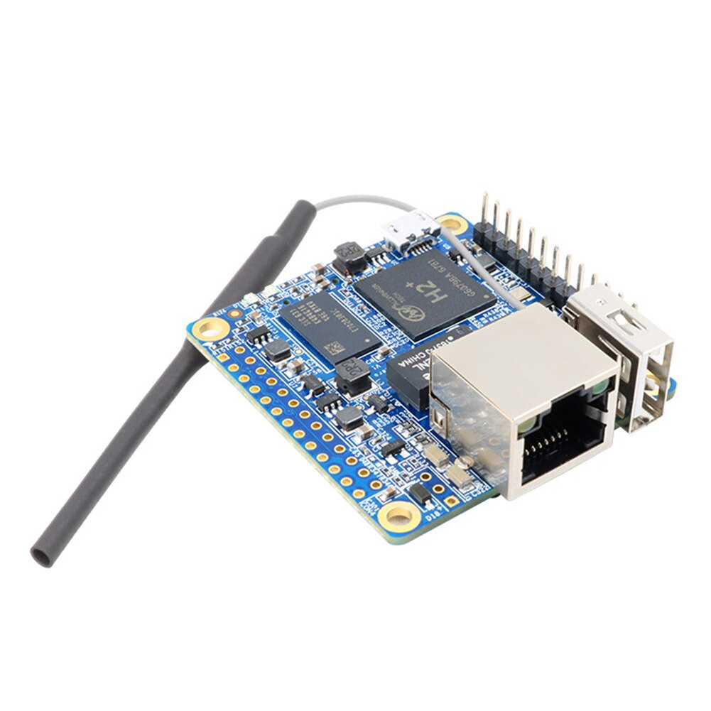 Orange Pi Zero H2 Office Quad Core, placa de desarrollo, 256MB, 512MB, componentes de herramientas, código abierto, alto rendimiento para Raspberry Pi