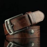 belt mens retro pin buckle belt mens youth students all match antique jeans belt