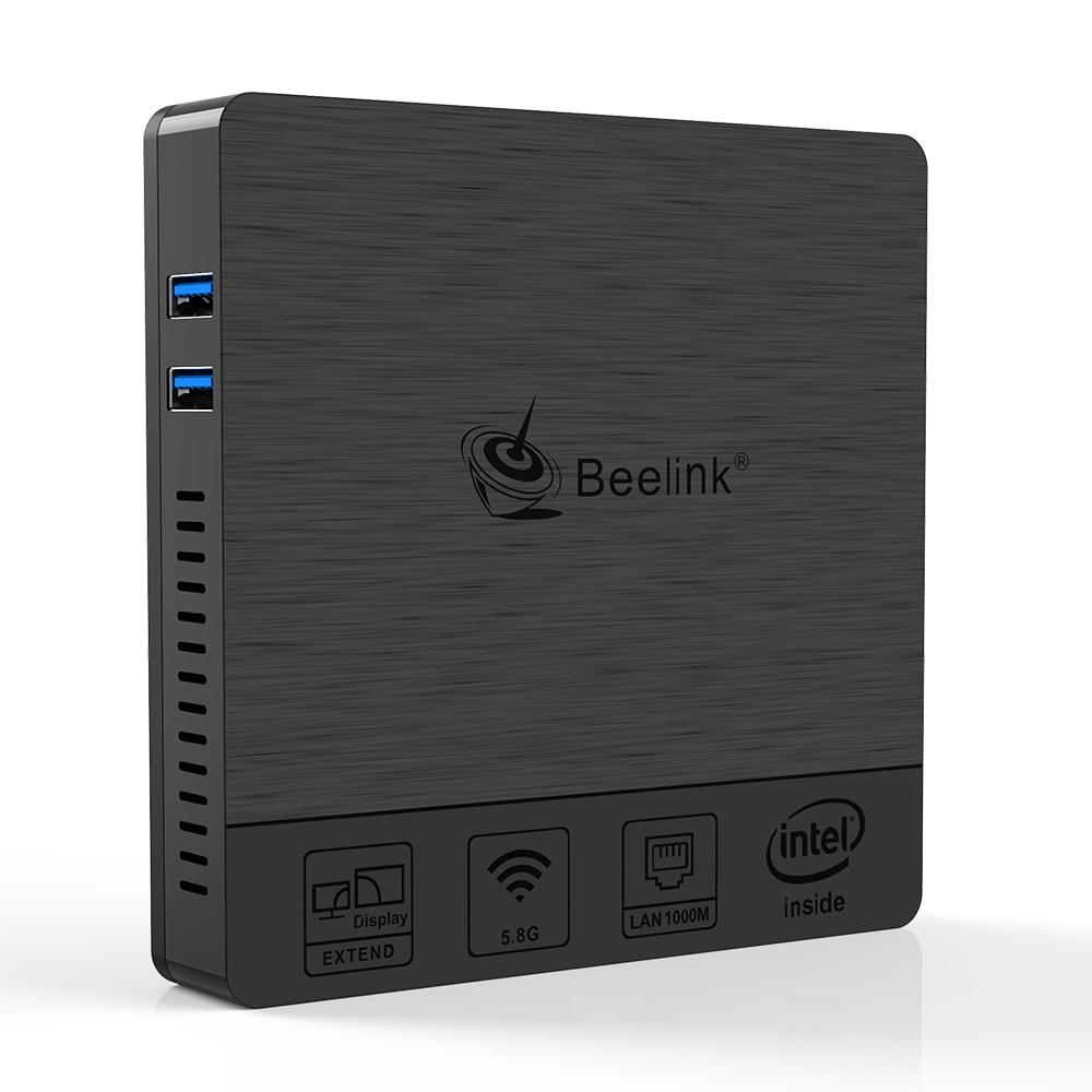 beelink BT4 Intel Atom Quad Core X5-Z8500 Windows10 Mini PC 1000M lan AC dual WiFi HD VGA display office computer win10 mini pc