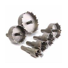 6 pièces HSS trou scie ensemble carbure pointe TCT noyau foret trou scie pour alliage acier inoxydable coupe outil électrique accessoires
